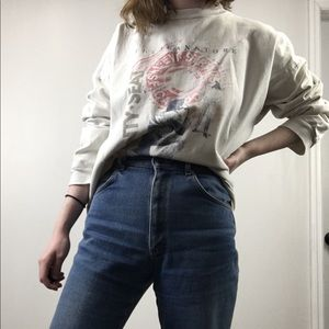 Vintage 80's/90's Levi Strauss Graphic Sweatshirt